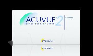 עדשות מגע דו שבועיות Acuvue 2 אקיוביו 2