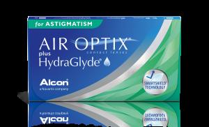 עדשות-מגע-חודשיות-Air-Optix-HydraGlyde-Astigmatism-אייר-אופטיקס