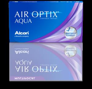 עדשות מגע חודשיות Air Optix Aqua