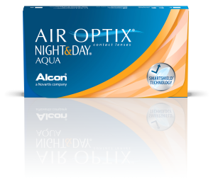 עדשות מגע חודשיות Air Optix Night & Day Aqua