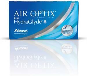 עדשות מגע חודשיות Air Optix plus HydraGlyde