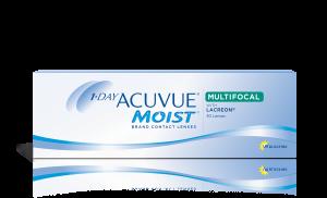 עדשות מגע יומיות Acuvue Moist Multifocal אקיוביו מויסט