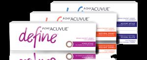 עדשות מגע יומיות 1-Day Acuvue Define
