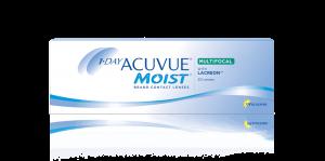 עדשות מגע יומיות 1 Day Acuvue Moist Multifocal - מולטיפוקל