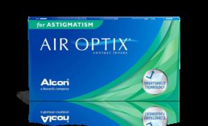 עדשות מגע חודשיות Air Optix Astigmatism אייר אופטיקס