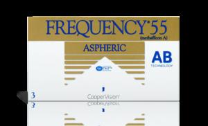 עדשות מגע חודשיות Frequency 55