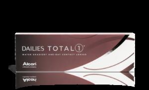 עדשות מגע יומיות Dailies Total 1 דייליס טוטאל