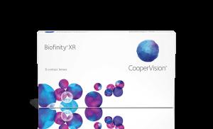 עדשות מגע חודשיות Biofinity XR ביופיניטי