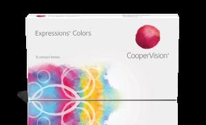 עדשות מגע צבעוניות Expressions Colors