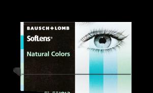 עדשות מגע צבעוניות Soflens Natural Colors סופלנס