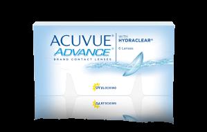 עדשות מגע דו-שבועיות Acuvue Advance
