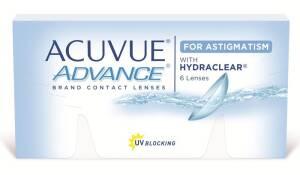 עדשות מגע דו-שבועיות Acuvue Advance for Astigmatism