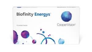 עדשות מגע חודשיות Biofinity Energys
