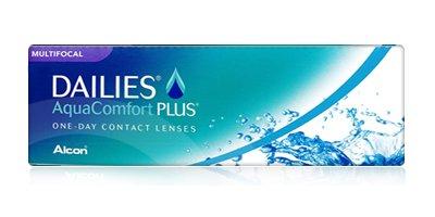 עדשות מגע יומיות Dailies AquaComfort Plus Multifocal - מולטיפוקל