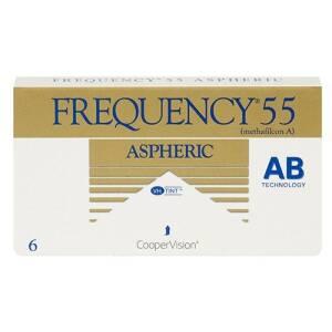 עדשות מגע חודשיות Frequency 55 Aspheric
