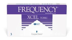 עדשות מגע חודשיות Frequency Xcel Toric