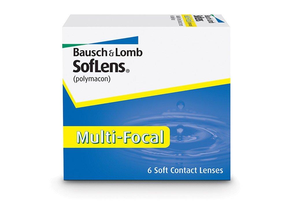עדשות מגע חודשיות Bausch + Lomb SofLens Multifocal