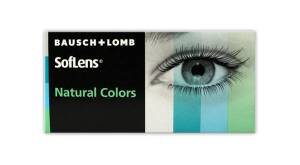 עדשות מגע חודשיות Bausch + Lomb SofLens Natural Colors