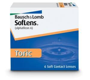 עדשות מגע חודשיות Bausch + Lomb SofLens Toric