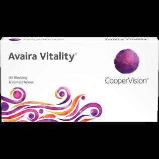 עדשות מגע דו-שבועיות Avaira Vitality