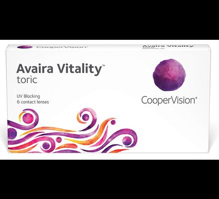 עדשות מגע דו-שבועיות Avaira Vitality Toric