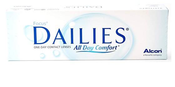 עדשות מגע focus dailies all day comfort
