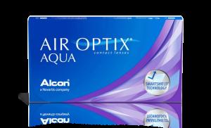 עדשות מגע חודשיות Air Optix Aqua אייר אופטיקס