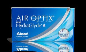 עדשות מגע חודשיות Air Optix Hydraglyde אייר אופטיקס