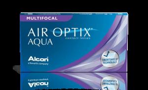 עדשות מגע חודשיות Air Optix Multifocal אייר אופטיקס