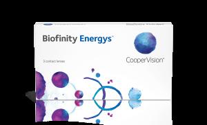 עדשות מגע חודשיות Biofinity Energys ביופיניטי