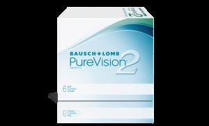 עדשות מגע חודשיות Purevision2 פיורויז'ן