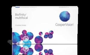 עדשות מגע יומיות Biofinity Multifocal ביופיניטי