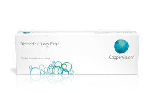 עדשות מגע יומיות Biomedics 1 Day Extra ביומדיקס אקסטרה