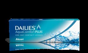 עדשות מגע יומיות Dailies AquaComfort Plus דייליס אקווה קומפורט פלוס