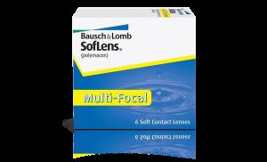 עדשות מגע מולטיפוקל חודשיות Soflens Multifocal סופלנס