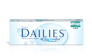 עדשות מגע צילינדר יומיות Focus Dailies All Day Comfort Toric פוקוס דייליס