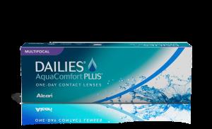 עדשות מגע מולטיפוקל יומיות Dailies AquaComfort Plus Multifocal דייליס אקווה קומפורט פלוס