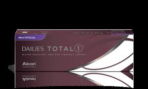 עדשות מגע מולטיפוקל יומיות Dailies Total 1 Multifocal דייליס טוטאל 1