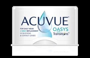 עדשות מגע דו שבועיות Acuvue Oasys with Transition